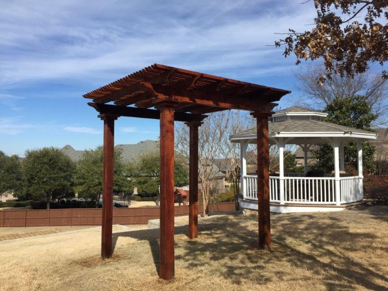 Arbors And Pergolas Texas Best Stain