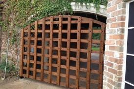 Custom Cedar Swing Gate