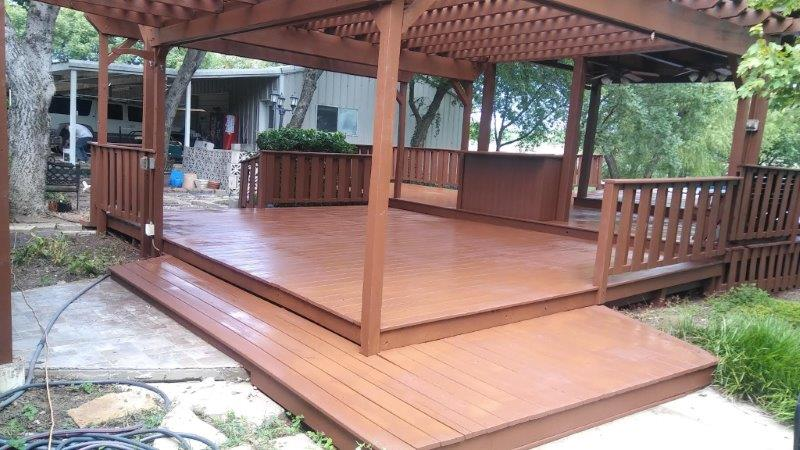 Deck Staining Texas Best Stain