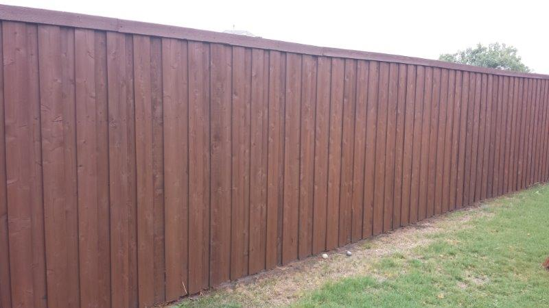 Fence Staining Texas Best Stain