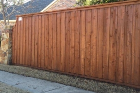 Sierra Wood Defender on New Cedar Fence