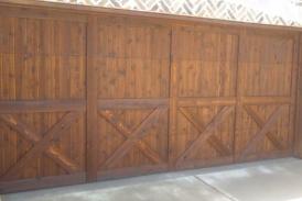 Cedar Tone Garage Stain