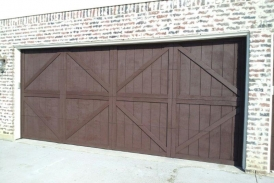Garage Door - Padre Brown Solid