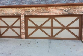 Two Tone Garage Stain