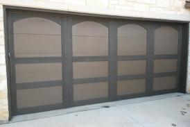 Two tone garage