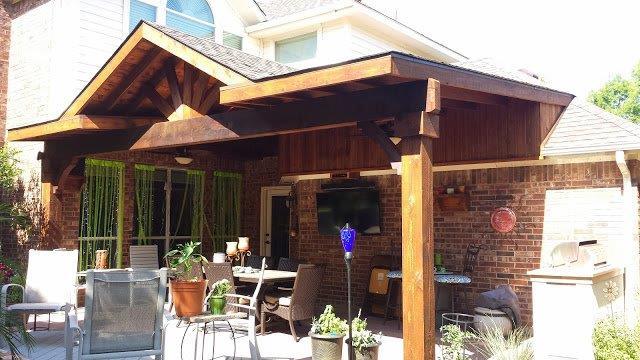 Flat Porch Roof
