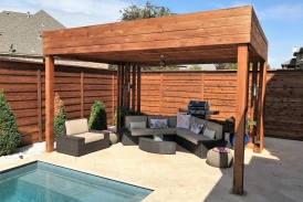 Modern Custom Patio cover