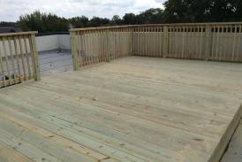 Pine Rooftop Deck