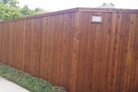 8' Side by Side Pre-stained Cedar