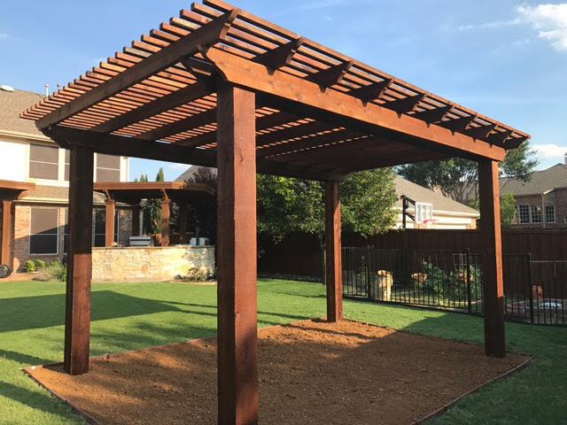 Patio Covers Amp Arbors Texas Best Stain