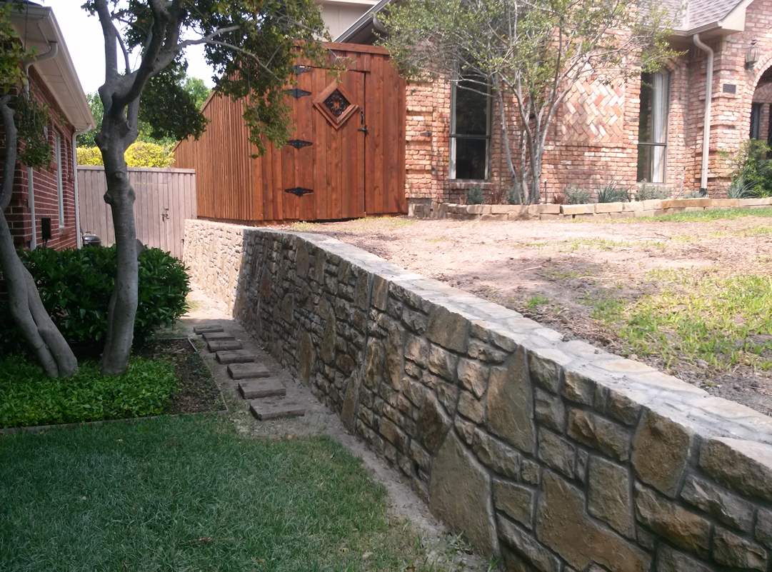 Retaining Walls Texas Best Stain