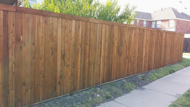 Side By Side Cedar Texas Best Stain