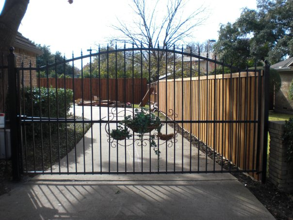 Wrought Iron Gates Texas Best Stain