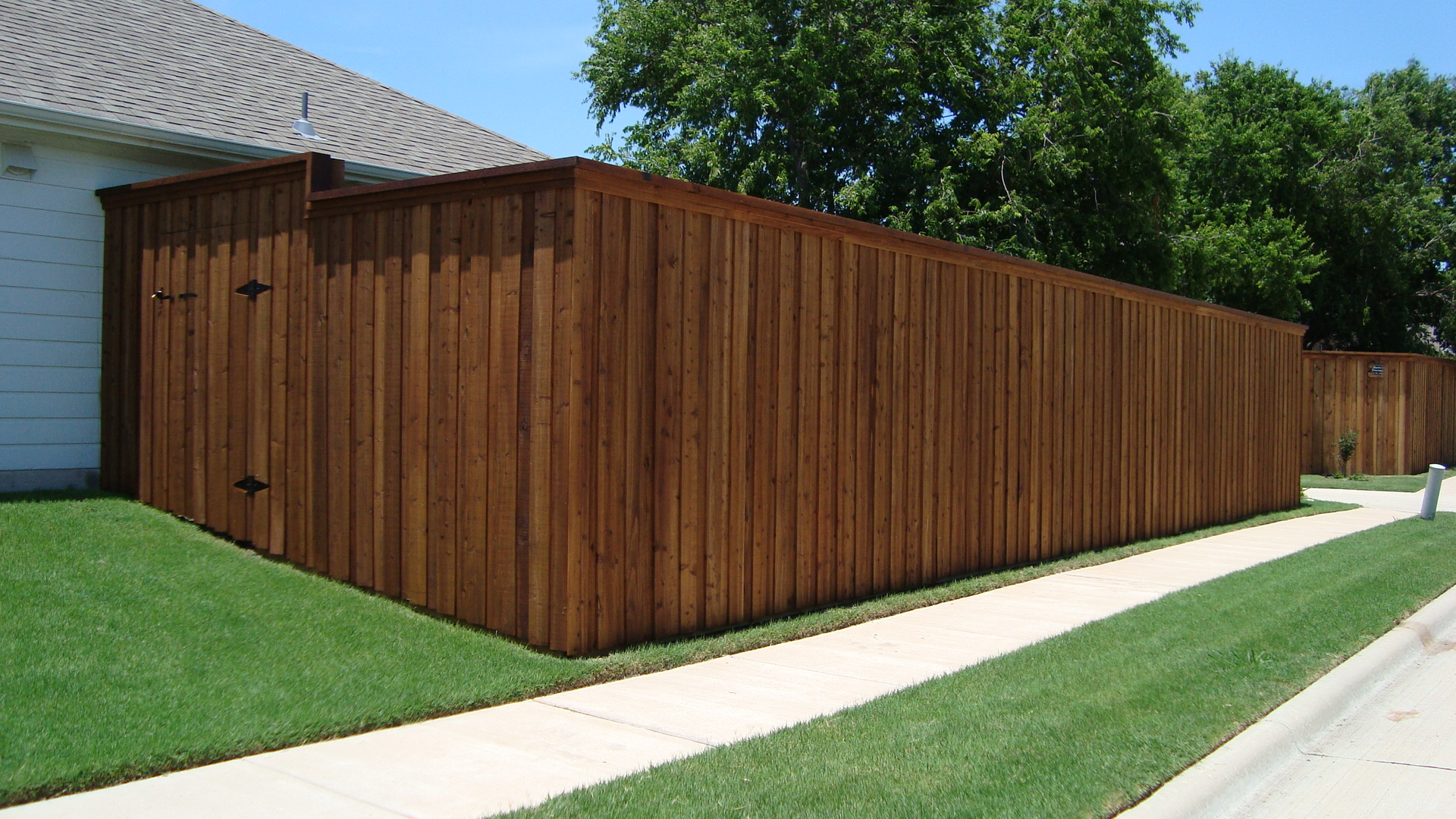 texas best stain fence staining repair outdoor solutions