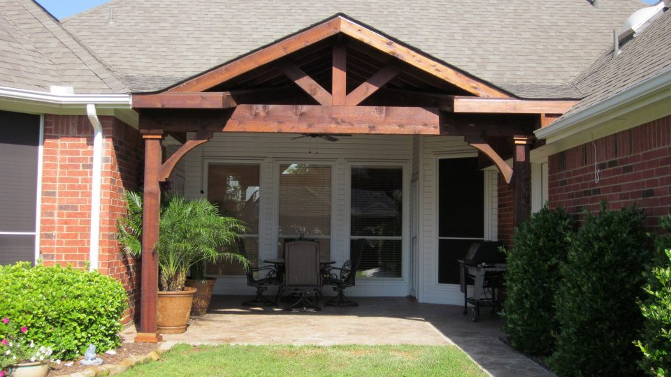 A-frame Patio Cover
