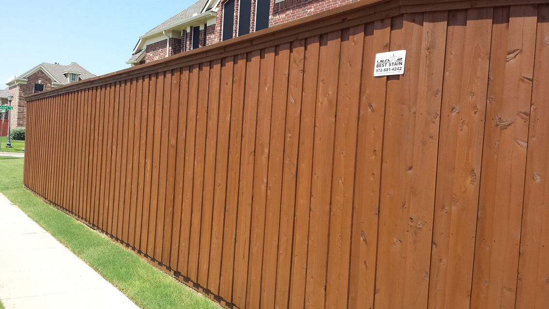 Sable Fence Stain