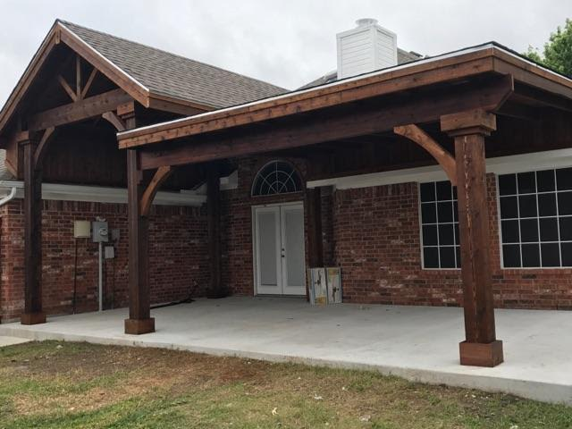 Custom Cedar Patio Cover